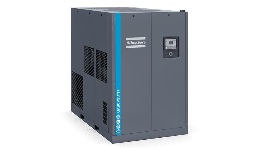 Atlas Copco Rental GA90VSD+FF